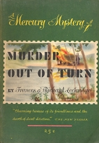 Murder Out of Turn by Frances Lockridge