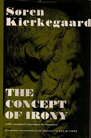 The Concept of Irony por Soren Kierkegaard