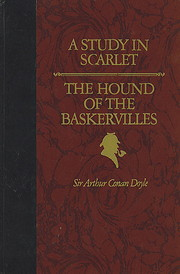 A Study in Scarlet & the Hound of the…