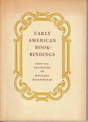Early American bookbindings from the…