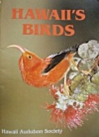 Hawaii's Birds by Hawaii Audubon Society