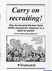 Carry on recruiting! : why the Socialist…