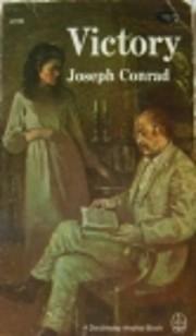 VICTORY de Joseph Conrad