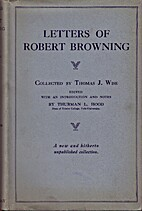 Letters of Robert Browning Collected By…