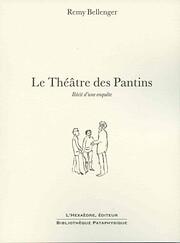 Le Théâtre des Pantins av Remy Bellenger