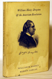 William Henry Drayton & the American…