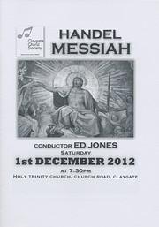 CCS Concert Programme - December 2012 af CCS