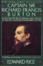 Captain Sir Richard Francis Burton by Edward…