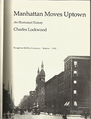 Manhattan moves uptown : an illustrated…