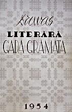Druvas literārā gada grāmata 1954 by…