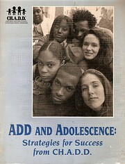 ADD and adolescence: Strategies for success…