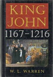 King John, 1167-1216 – tekijä: W. L…