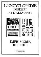 L'Encyclopedie Diderot et d'Alembert…