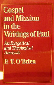 Gospel and mission in the writings of Paul :…