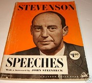 Speeches of Adlai Stevenson with a Foreword…