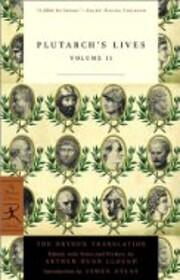Plutarch's Lives, Volume 2 (Modern…