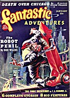 Fantastic Adventures Jan '40 featuring The…