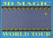 The 3D magic world tour