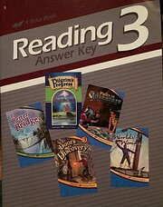 Reading 3 (Answer Key)