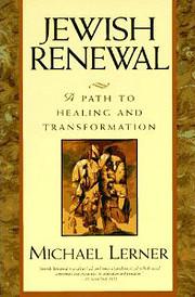 Jewish Renewal de Michael Lerner