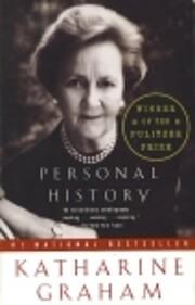 Personal History af Katharine Graham