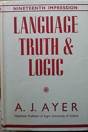 Language, Truth & Logic, 2nd Edition -…