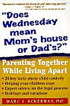 Does Wednesday mean Mom's House or Dad's?…