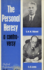 The Personal Heresy: A Controversy by E. M.…