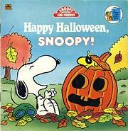 Happy Halloween Snoopy de Golden Books