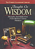 Thoughts on Wisdom by American Heritage