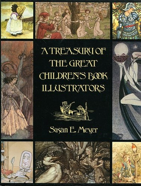 A Treasury of the Great Children's Book Illustrators cover