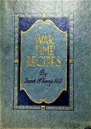 War Time Recipes – tekijä: Janet McKenzie…