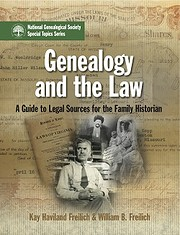 Genealogy and the Law: A Guide to Legal…