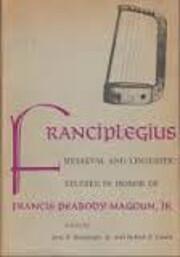 Franciplegius : medieval and linguistic…