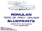 Book of Romulan Plans Bird of Prey Cruiser…