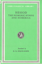 Hesiod, The Homeric Hymns and Homerica by…