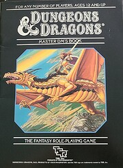Dungeons and Dragons Master DM's Book de TSR…