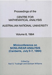 Miniconference on Nonlinear Analysis,…