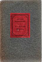 Die Dreifache Warnung: Novellen. by Arthur…