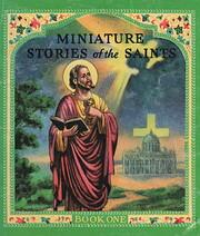 Miniature stories of the saints av Daniel A…