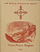 Trans-Pecos region, southeastern New Mexico…