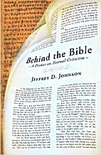 Behind the Bible: A Primer on Textual…