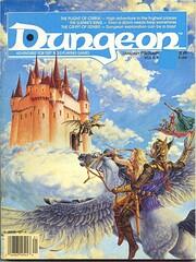 Dungeon Magazine # 9 de Barbara G. Young