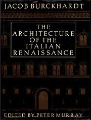 The architecture of the Italian Renaissance…