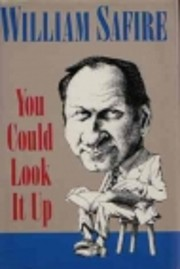 YOU COULD LOOK IT UP de William Safire