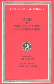 Ovid: The Art of Love and Other Poems (Loeb…