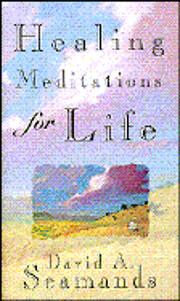Healing Meditations for Life de David A.…