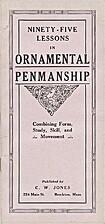 Ninety-five lessons in ornamental penmanship…