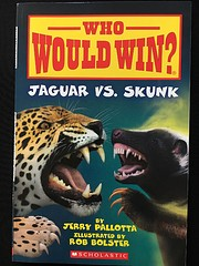Who Would Win? Jaguar vs. Skunk by Jerry…