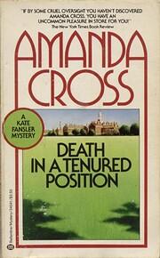 Death in a tenured position av Amanda Cross